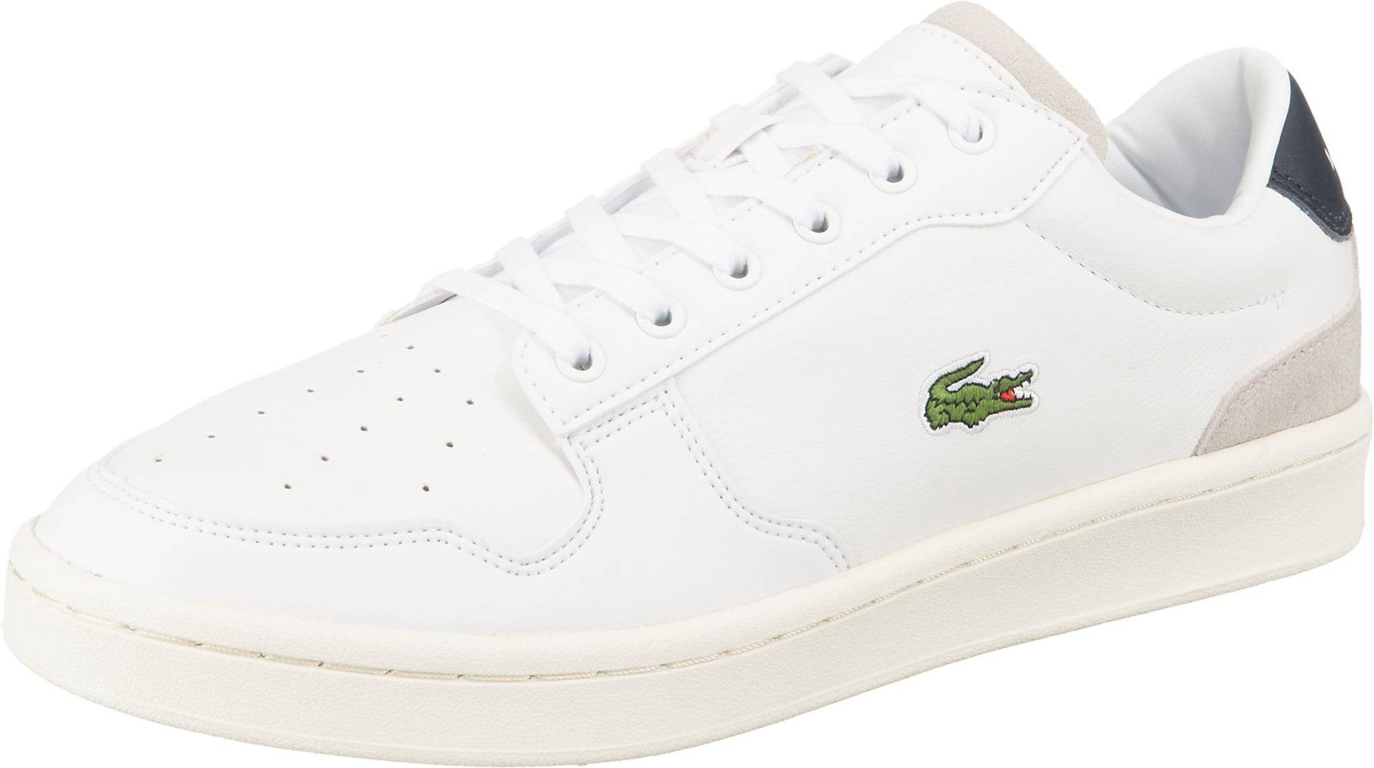 LACOSTE Baskets basses 'Masters Cup'  - Blanc - Taille: 6.5 - male