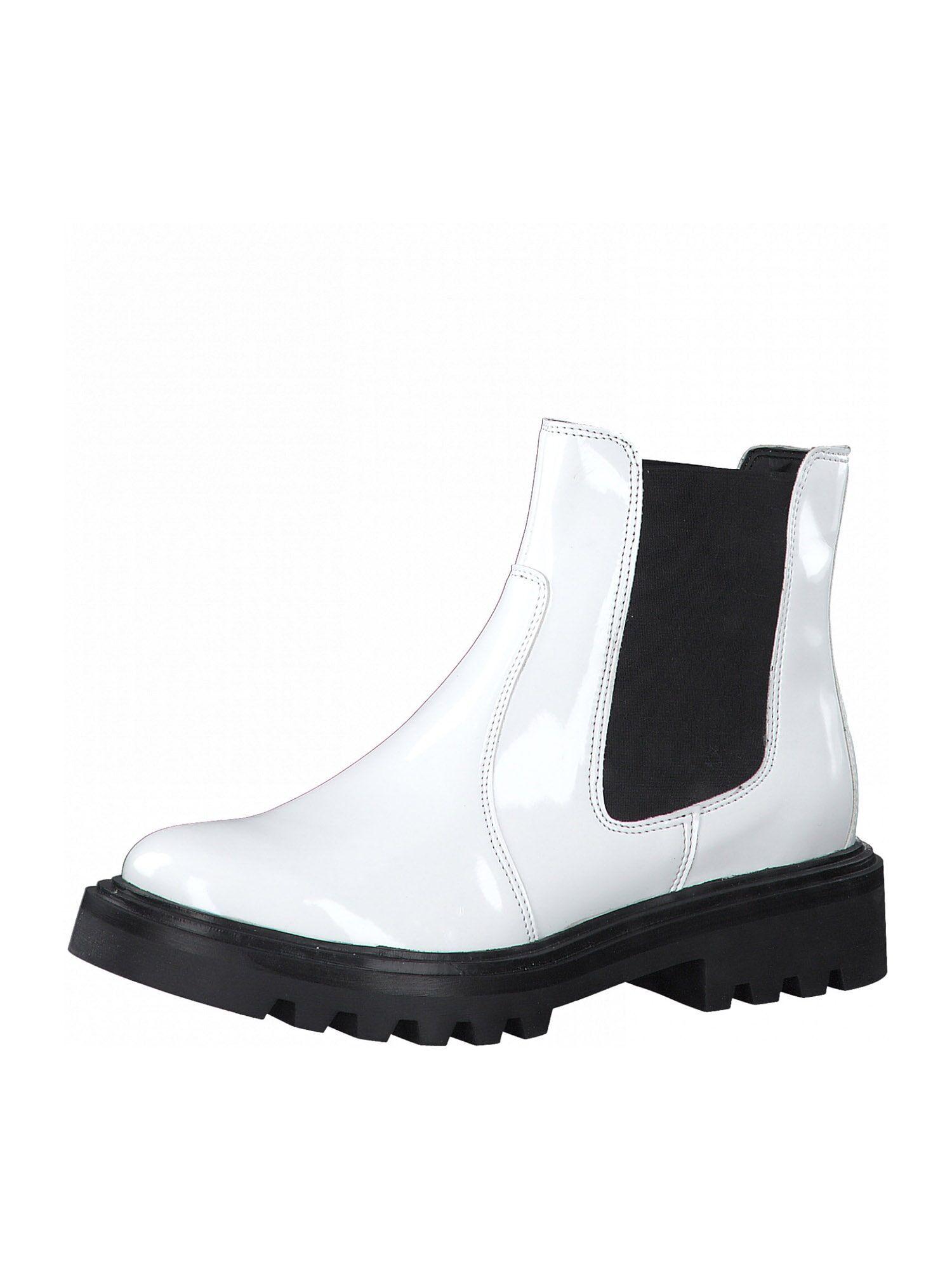 TAMARIS Chelsea Boots  - Blanc - Taille: 40 - female