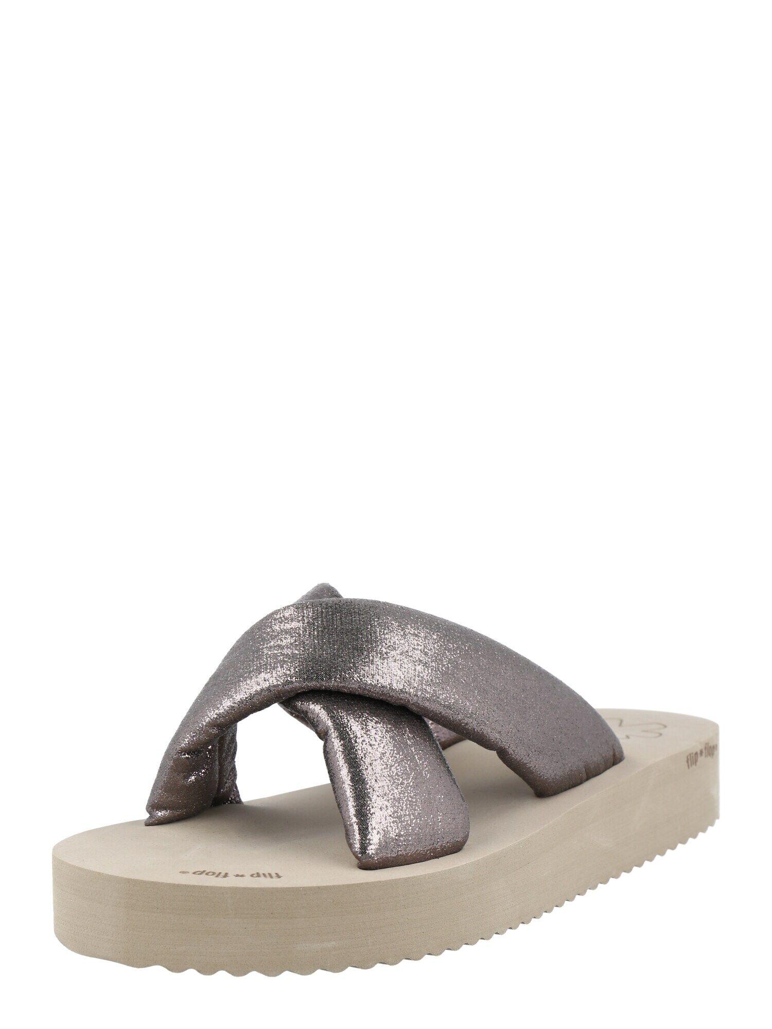 FLIP*FLOP Mule 'Chic'  - Argent - Taille: 38 - female