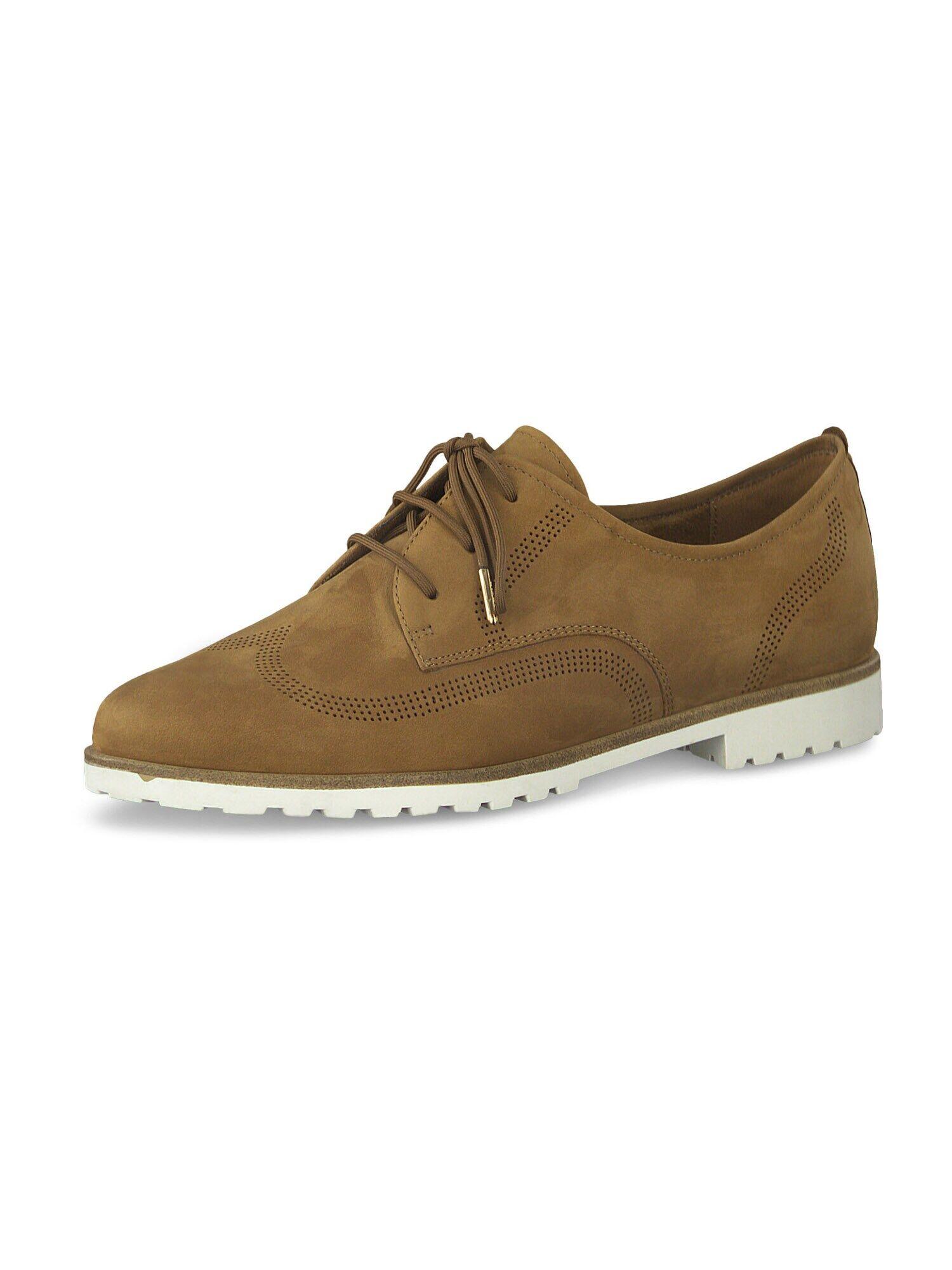 TAMARIS Chaussure à lacets  - Marron - Taille: 37 - female