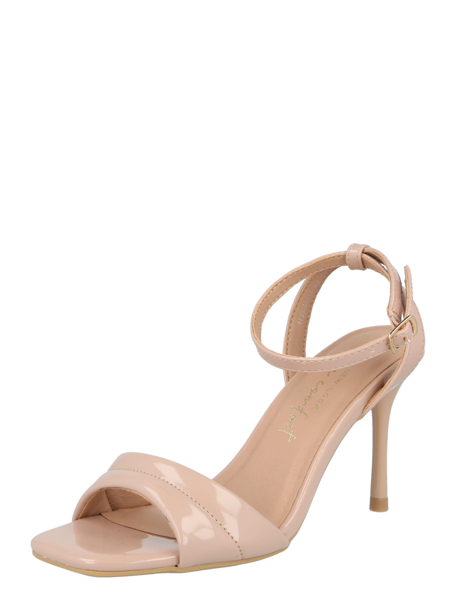 NEW LOOK Sandales à lanières 'VADDY'  - Beige - Taille: 8 - female