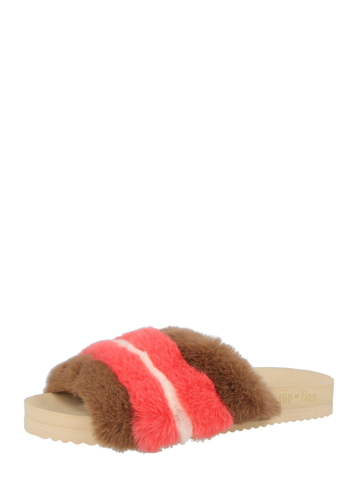 FLIP*FLOP Pantoufle  - Beige - Taille: 37 - female