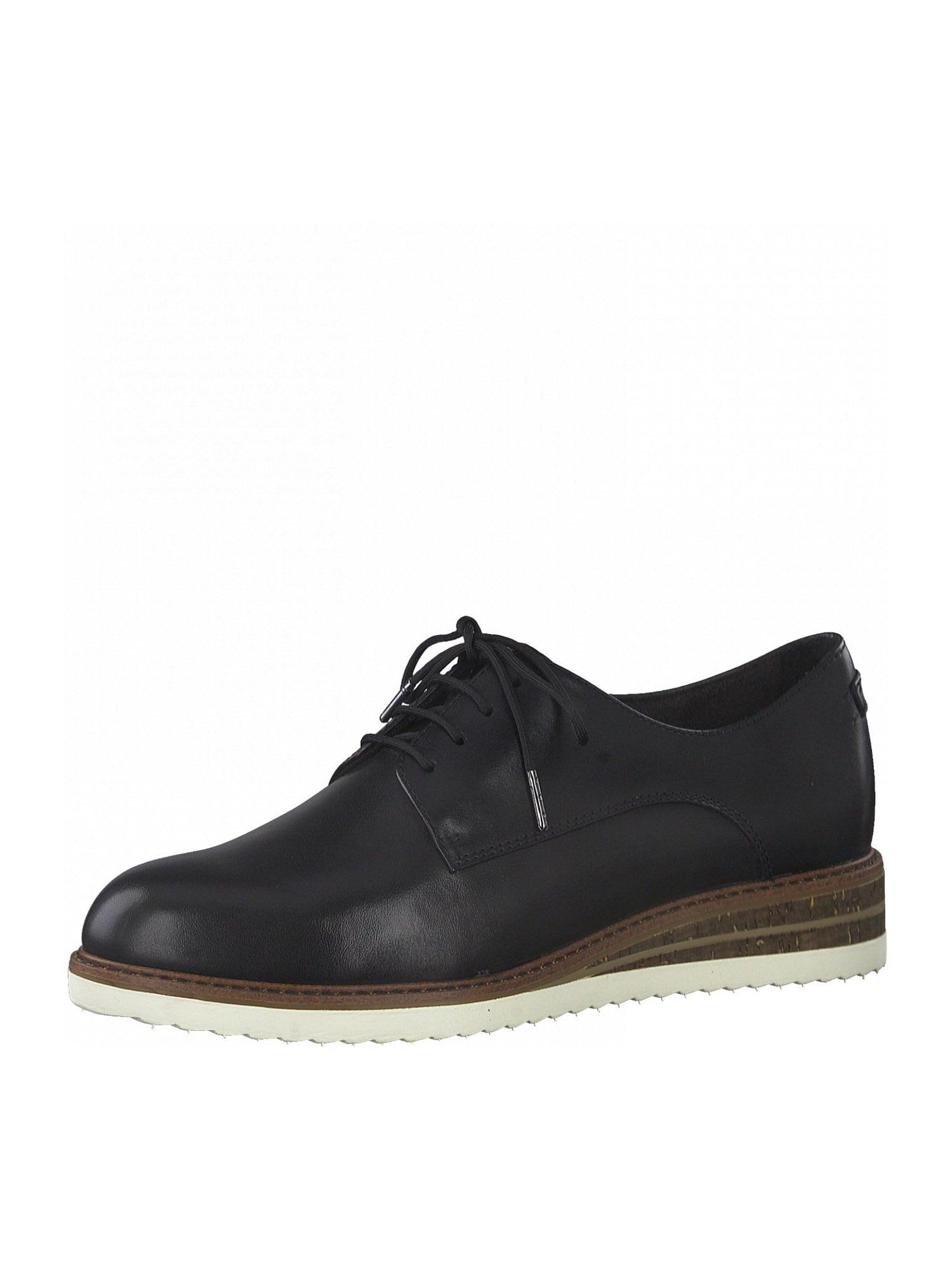 TAMARIS Chaussure à lacets  - Noir - Taille: 36 - female