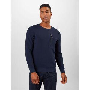 TOM TAILOR DENIM Sweat-shirt  - Bleu - Taille: S - male - Publicité