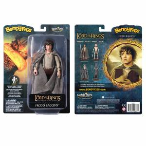 Noble Collection Lord of the Rings - Frodo Baggins Bendyfigs - Publicité