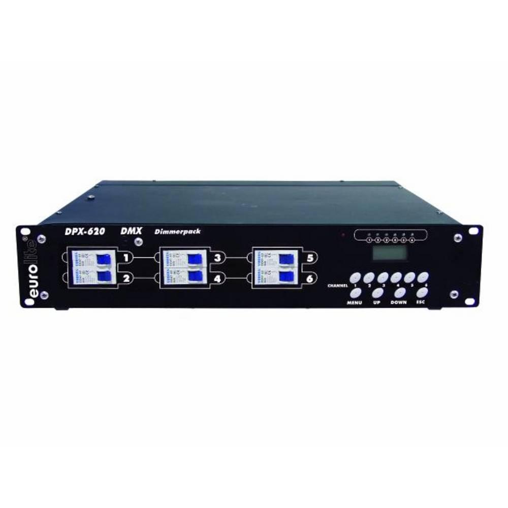 Eurolite variateur DMX Eurolite DPX-620 6 canaux