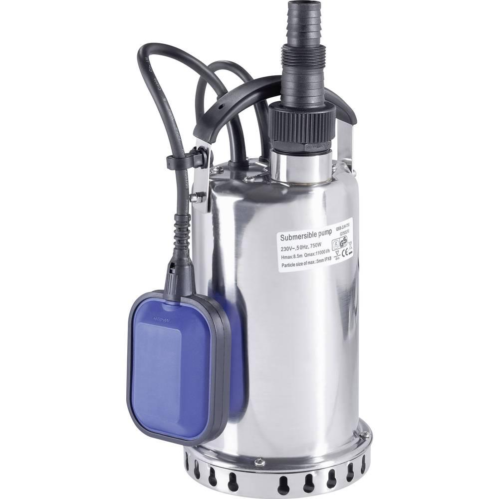 Renkforce Pompe submersible pour eau claire Renkforce 1529145 11000 l/h 7.5 m 1 pc(s)