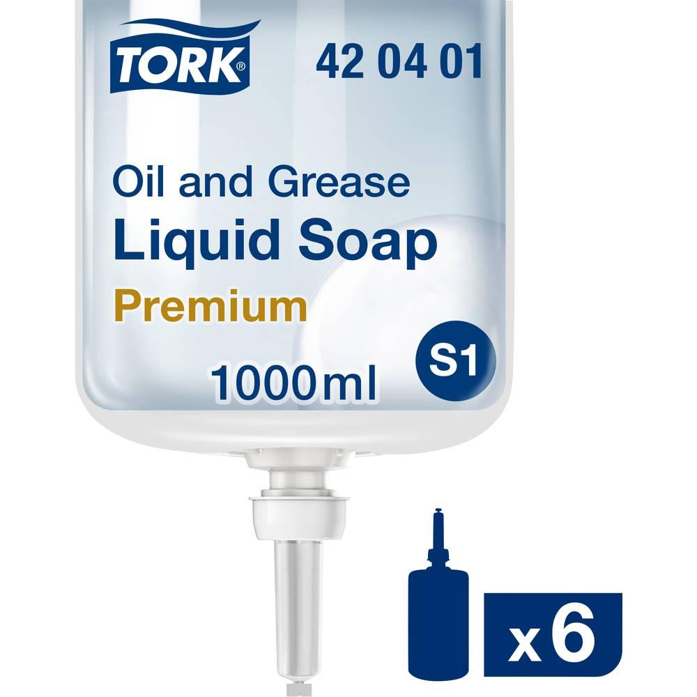 TORK Savon liquide spécial huile et graisse 6x 1000 ml TORK 420401