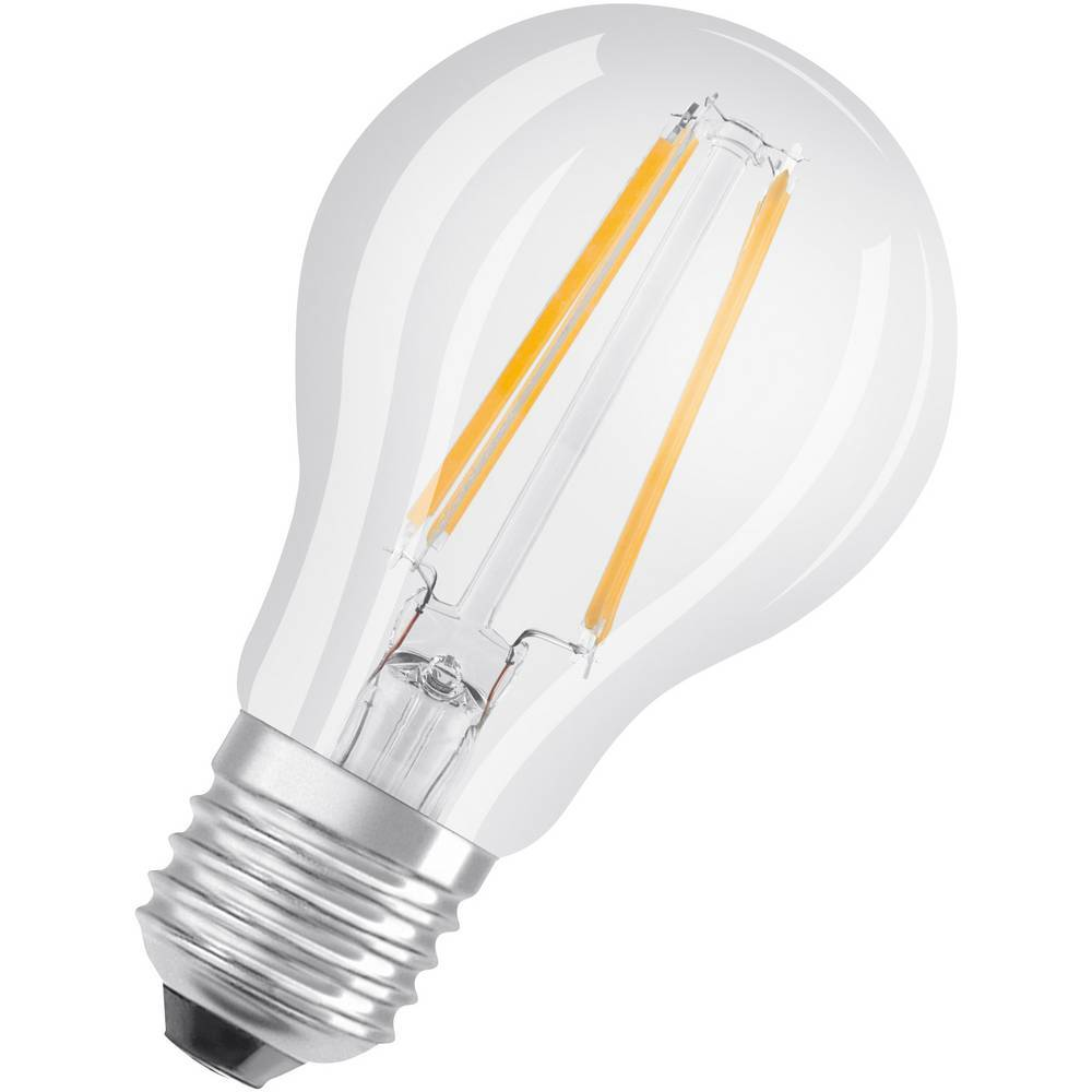 OSRAM LED E27 OSRAM LED THREE STEP DIM CLASSIC A 60 6.5 W/2700K E27 4058075269750 7 W blanc chaud (Ø x L) 60.0 mm x 105.0 mm 1 pc(s)
