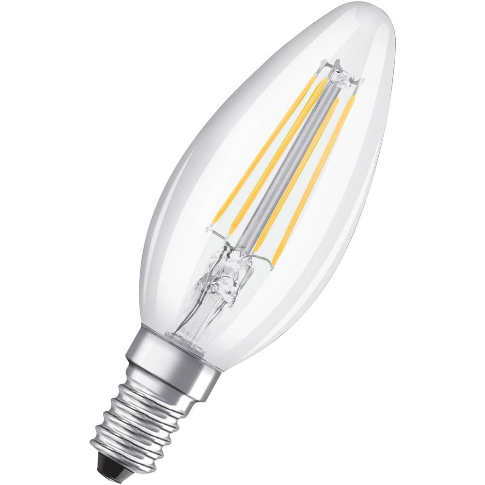 OSRAM LED E14 OSRAM LED THREE STEP DIM CLASSIC B 40 4 W/2700K E14 4058075269774 4 W blanc chaud (Ø x L) 35.0 mm x 97.0 mm 1 pc(s)