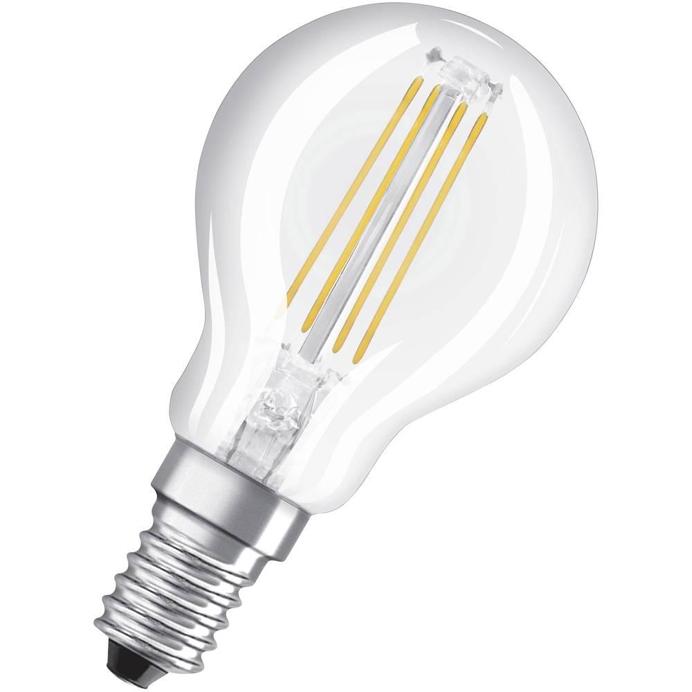 OSRAM LED E14 OSRAM LED THREE STEP DIM CLASSIC P 40 4 W/2700K E14 4058075269859 4 W blanc chaud (Ø x L) 45.0 mm x 78.0 mm 1 pc(s)