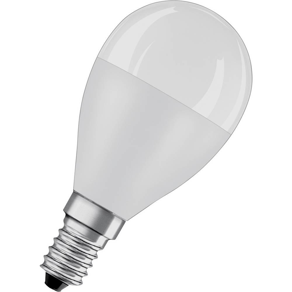 OSRAM LED E14 OSRAM LED STAR CLASSIC P 60 7.5 W/2700K E14 4058075428522 7.5 W = 60 W blanc chaud (Ø x L) 47 mm x 90 mm 1 pc(s)