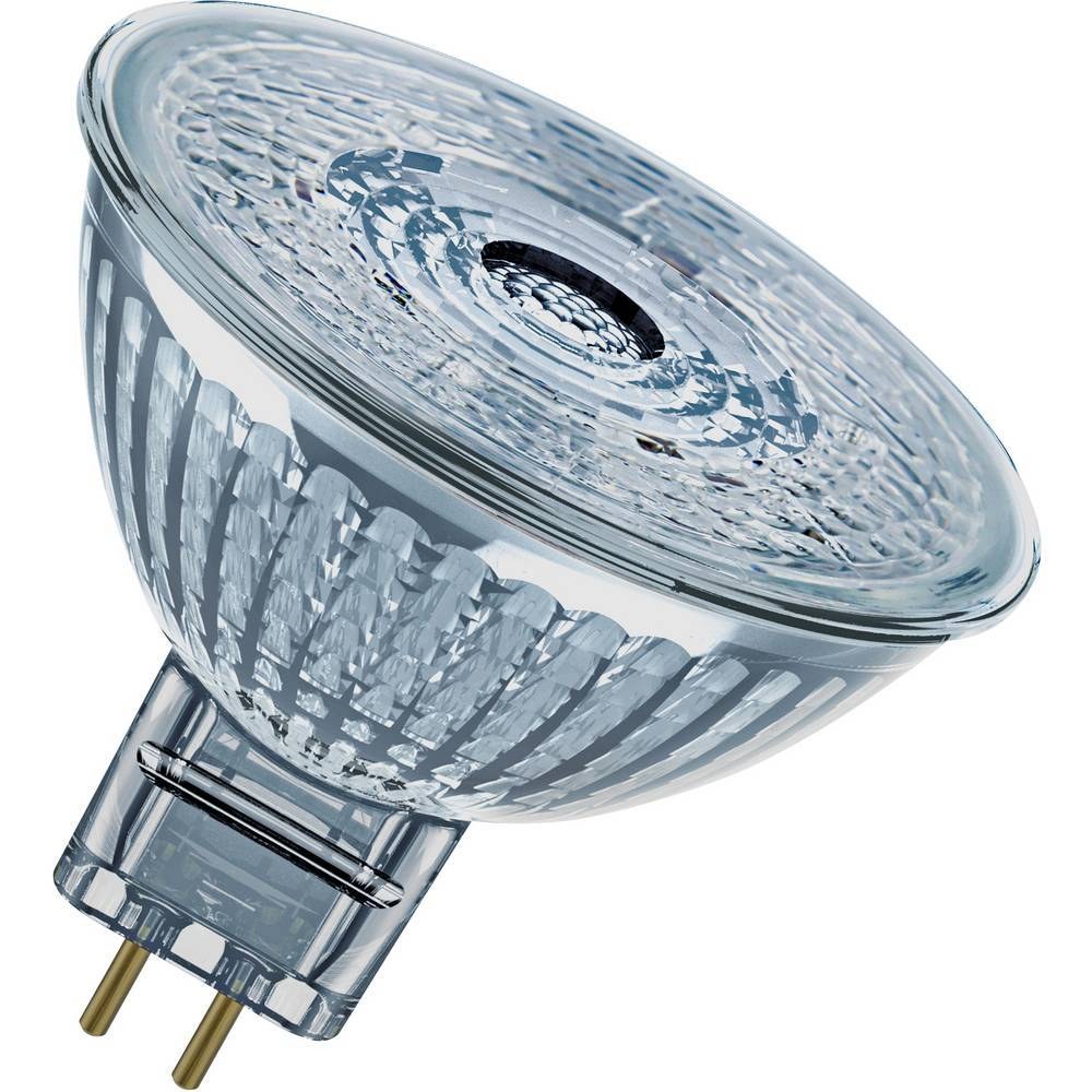 OSRAM LED GU5.3 OSRAM LED STAR MR16 12 V 35 36° 4.6 W/4000K GU5.3 4058075431171 4.6 W = 35 W blanc froid (Ø x L) 51 mm x 46 mm 1 pc(s)