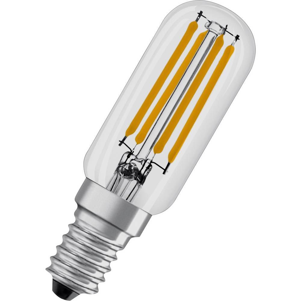 OSRAM LED E14 OSRAM LED STAR SPECIAL T26 40 4 W/2700K E14 4058075432932 4 W = 40 W blanc chaud (Ø x L) 25 mm x 80 mm 1 pc(s)