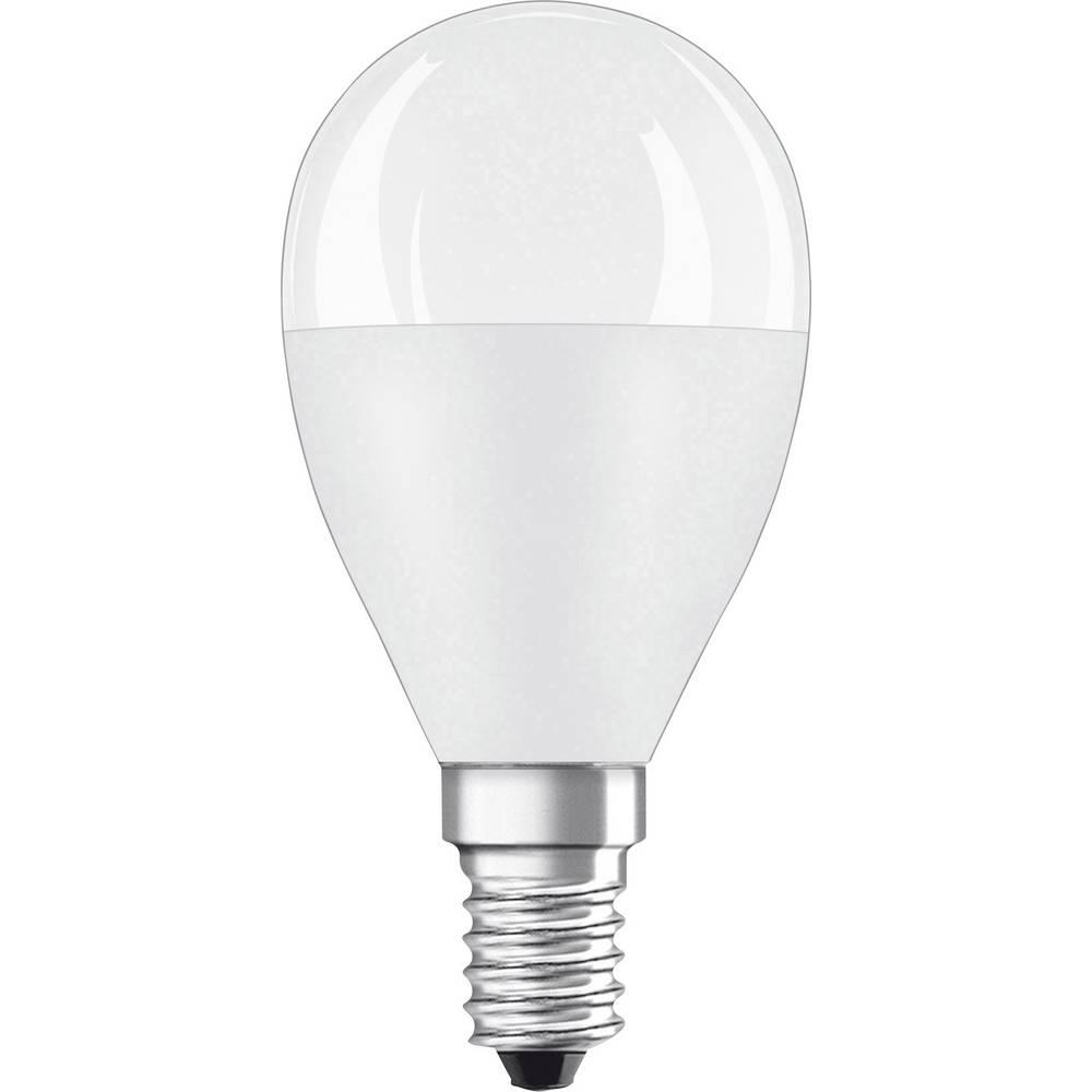 OSRAM LED E14 OSRAM 4058075127470 8.00 W = 60 W blanc chaud (Ø x L) 45 mm x 90 mm 1 pc(s)