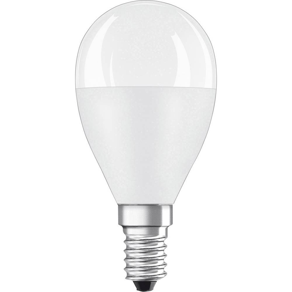 OSRAM LED E14 OSRAM 4058075127470 8.00 W = 60 W blanc chaud (Ø x L) 45 mm x 90 mm 1 pc(s)
