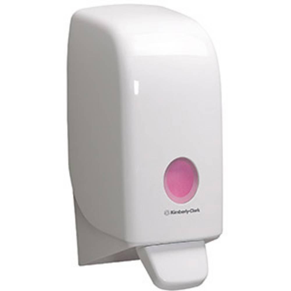 AQUARIUS Distributeur de savon Aquarius ® KLEENEX ® savon liquide, savon moussant, désinfectant pour les mains 11,6 x 23,5 x 11,4 cm (L x H x P) 1 L plastique blanc