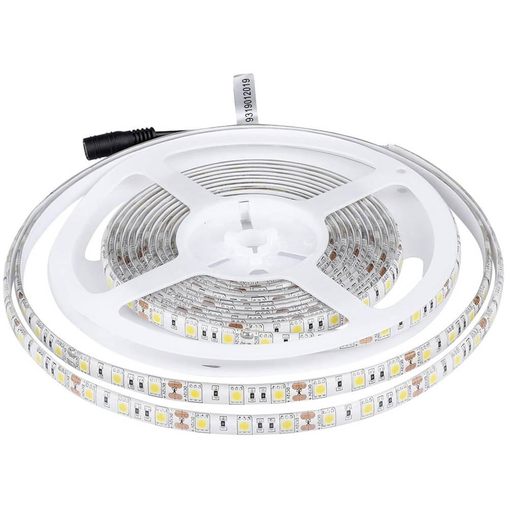 V-TAC Ruban LED V-TAC VT-5050 60 3000K IP65 5m 2149 5m avec connecteur mâle 12 V 5 m N/A 5 m