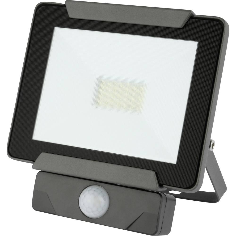 Emos Ideo 850EMIDS20WZS2721 Projecteur LED extérieur avec détecteur de mouvements 20 W blanc neutre