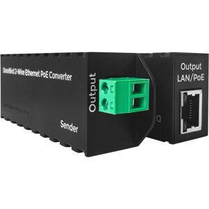 DoorBird Interphone vidéo IP DoorBird A1071 Transmetteur bifilaire noir 1 pc(s) - Publicité