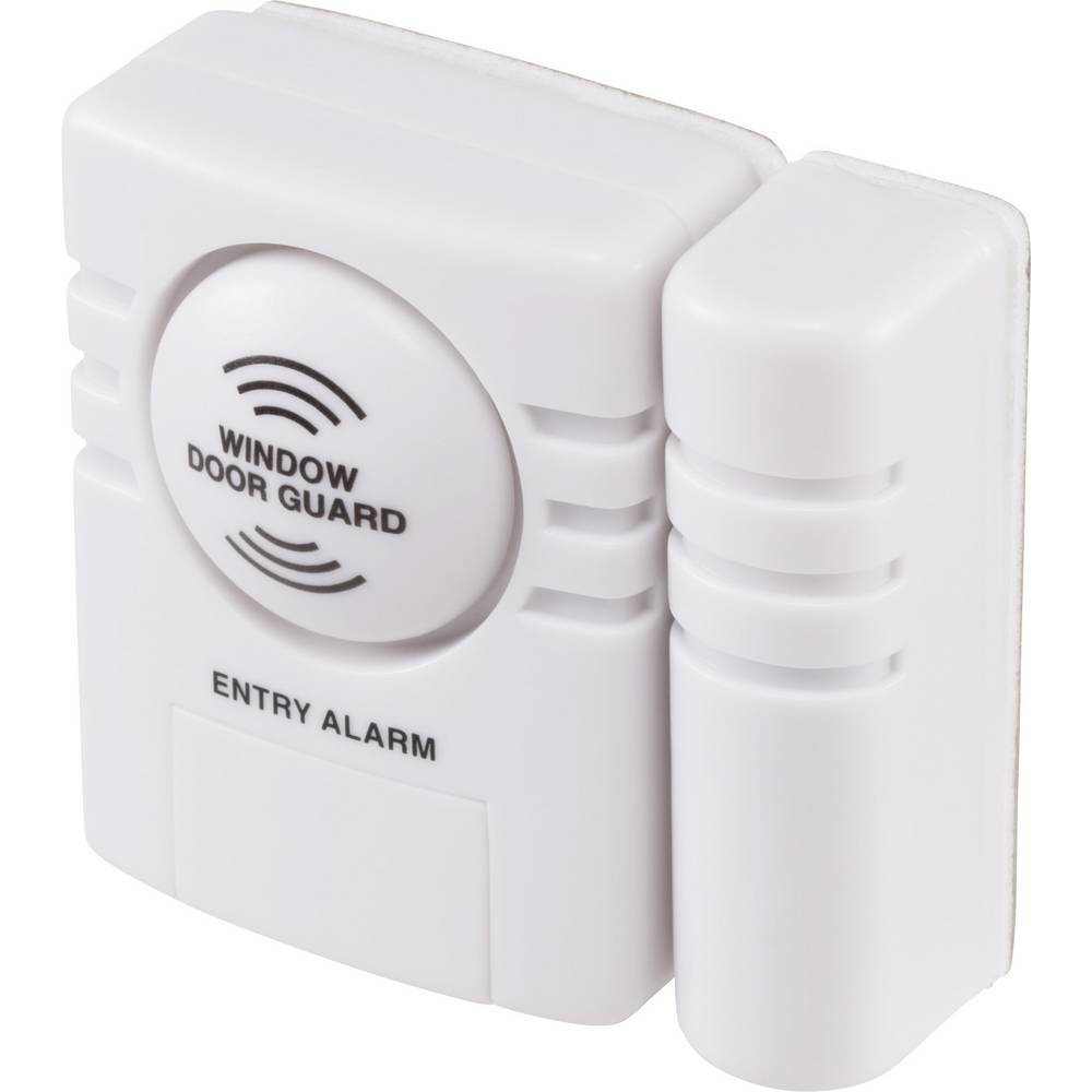 Basetech Alarme pour porte / fenêtre Basetech BT-1851835 blanc 1 pc(s)