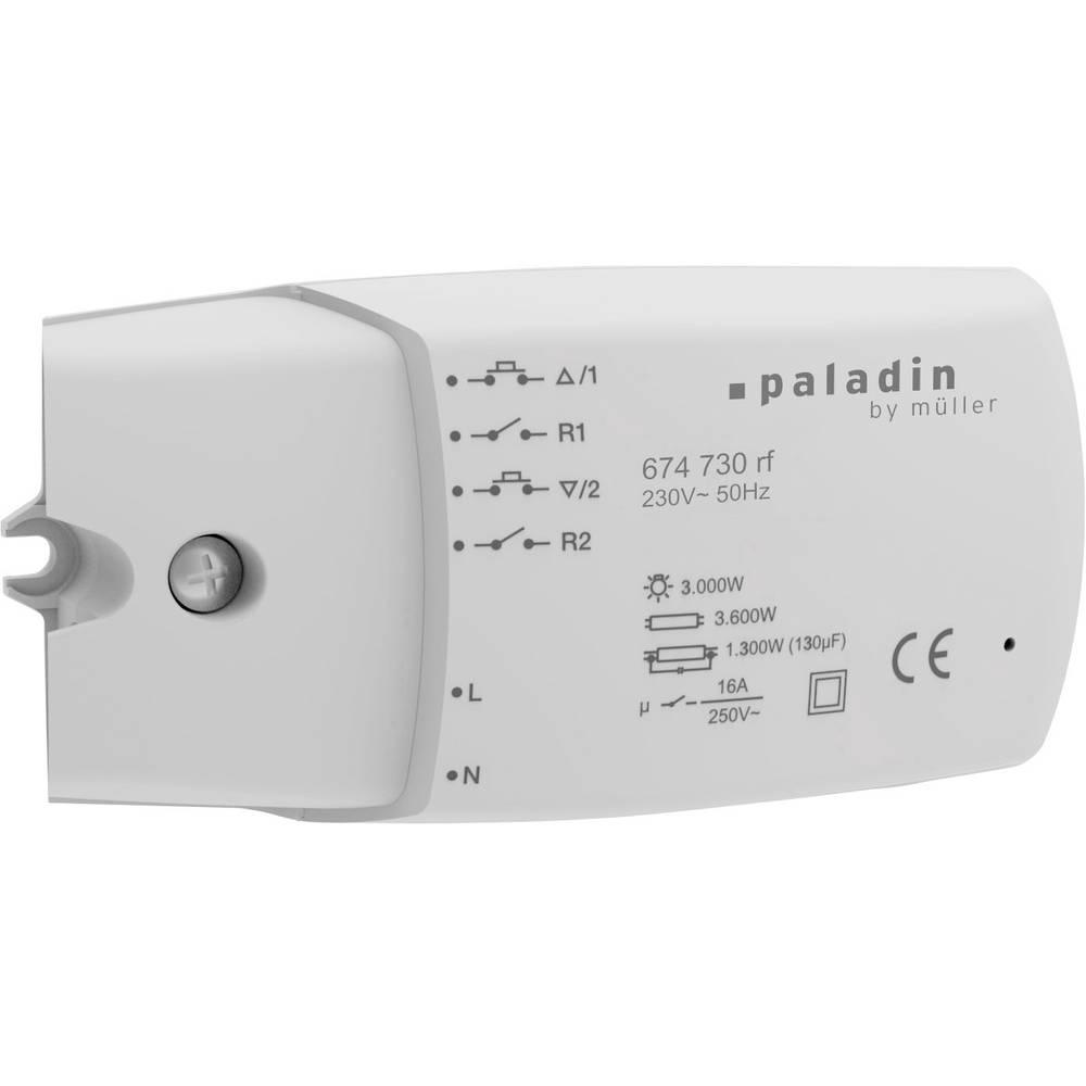 Paladin Actionneur de commutation KNX Paladin 674 730 rf 2 canaux 1 pc(s)