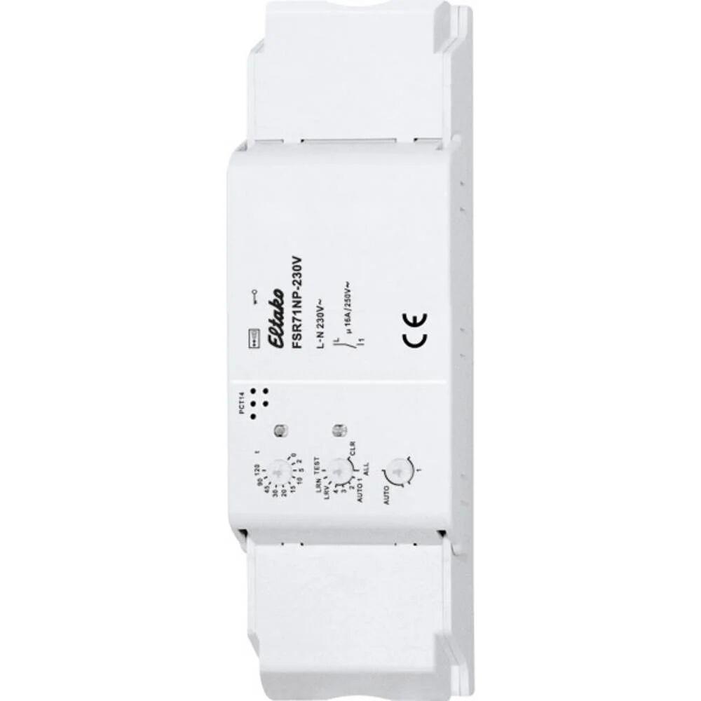 Eltako FSR71NP-230V Eltako sans fil Actionneur de commutation montage apparent (en saillie) Puissance de coupure (max.) 2000 W Portée max. 30 m