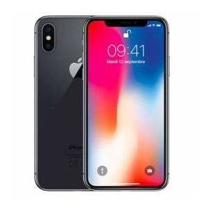 Apple iPhone X 64 Go Gris sidéral - Publicité