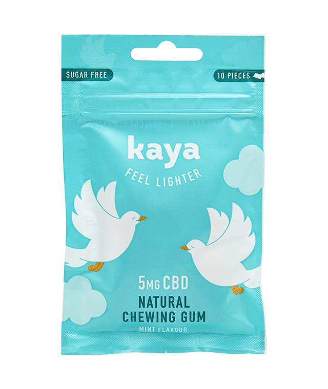 Kaya Chewing-gum relaxant