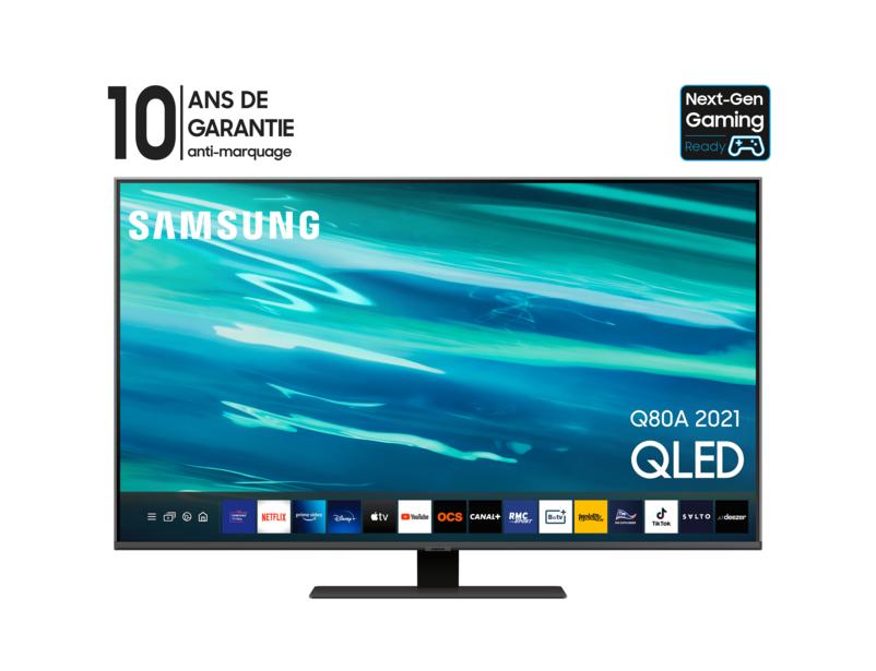 Samsung QLED 50Q80A 2021, SERIE 8