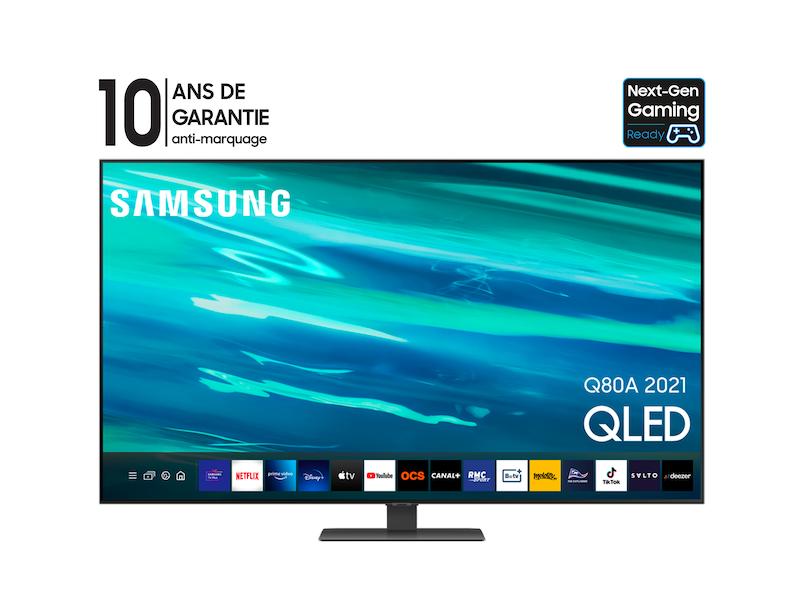 Samsung QLED 55Q80A 2021, SERIE 8