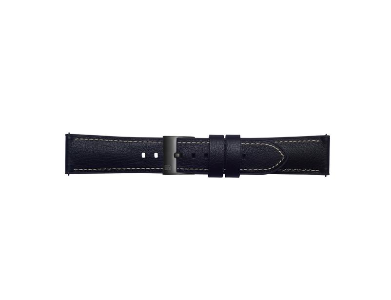 Samsung Bracelet cuir 20mm 'Urban Traveller' (Strap Studio) pour Galaxy Watch
