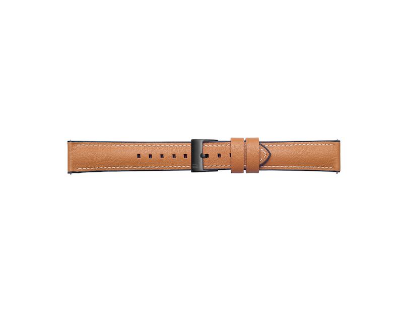 "Samsung Bracelet cuir 22mm ""Urban Traveller"" (Strap Studio) pour Galaxy Watch"