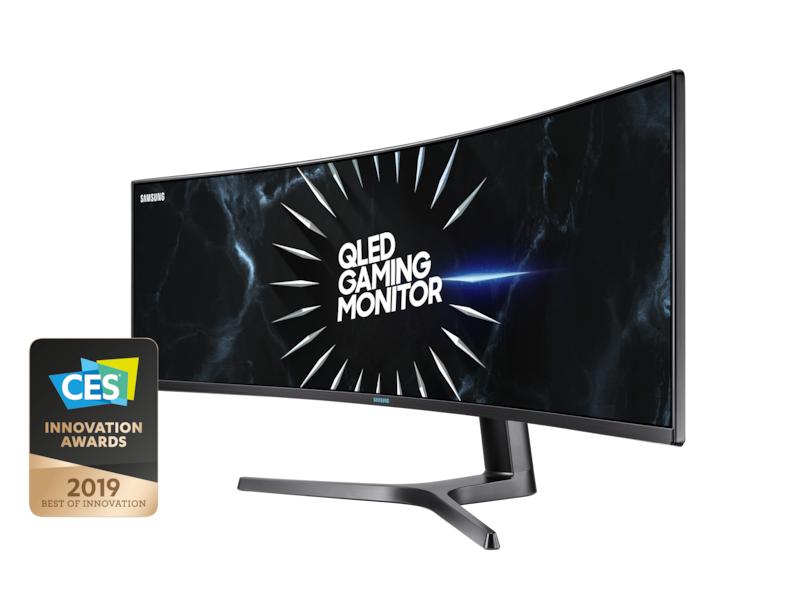 Samsung 49' Écran gaming incurvé ultra large - C49RG90SSR