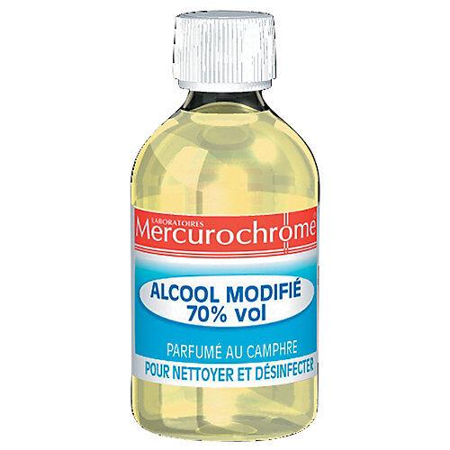 Mercurochrome Alcool modifié 70%...