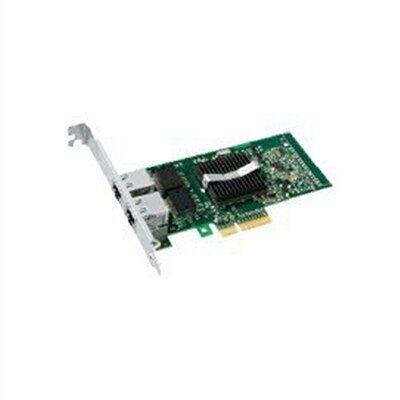 Intel PRO/1000 PT Dual Port Server Adapter - Adaptateur réseau - PCI Express x4 - EN, Fast EN, Gigabit EN - 10Base-T, 100Base-TX, 1000Base-T - 2 ports