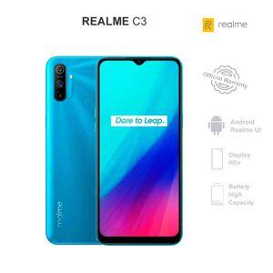 REALME C3 - Publicité