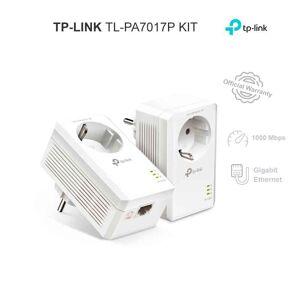 TP-LINK TL-PA7017P KIT (PRISE GIGOGNE) - Publicité