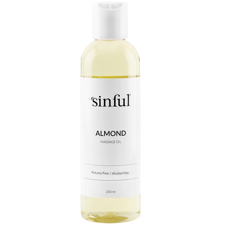 Sinful Huile de Massage à l'Amande 200 ml