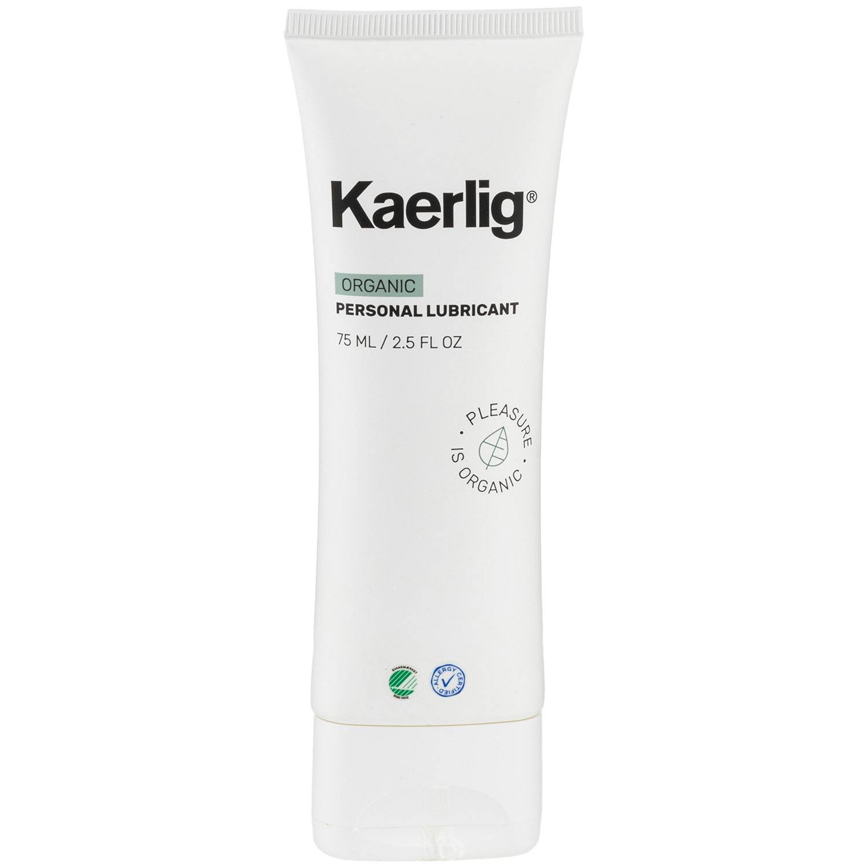 Kaerlig Lubrifiant Bio à Base d'Eau 75 ml