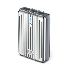 Zendure A3 Portable Charger (10,000mAh) Silver - Publicité