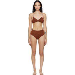 Oséree Bikini à taille haute brun Lumière - 34 - Publicité