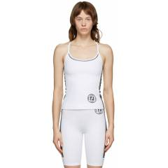 Fendi Haut blanc Fendirama Fitness - XXS