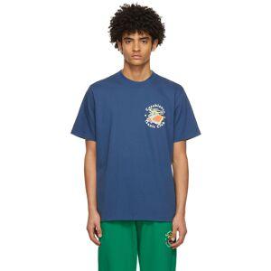 Casablanca T-shirt 'Tennis Club' Island bleu marine - S - Publicité