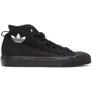 adidas Originals Baskets noires Nizza Hi - 35.5 - Publicité