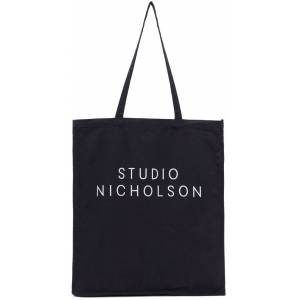 Studio Nicholson Cabas bleu marine Standard - UNI - Publicité