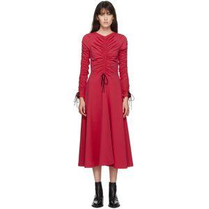 Molly Goddard Robe en coton rose Layla exclusive à SSENSE - XS - Publicité
