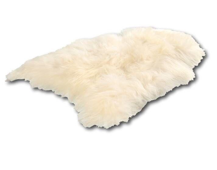 Dimehouse Peau De Mouton Blanc 90 x 60 cm Islandais