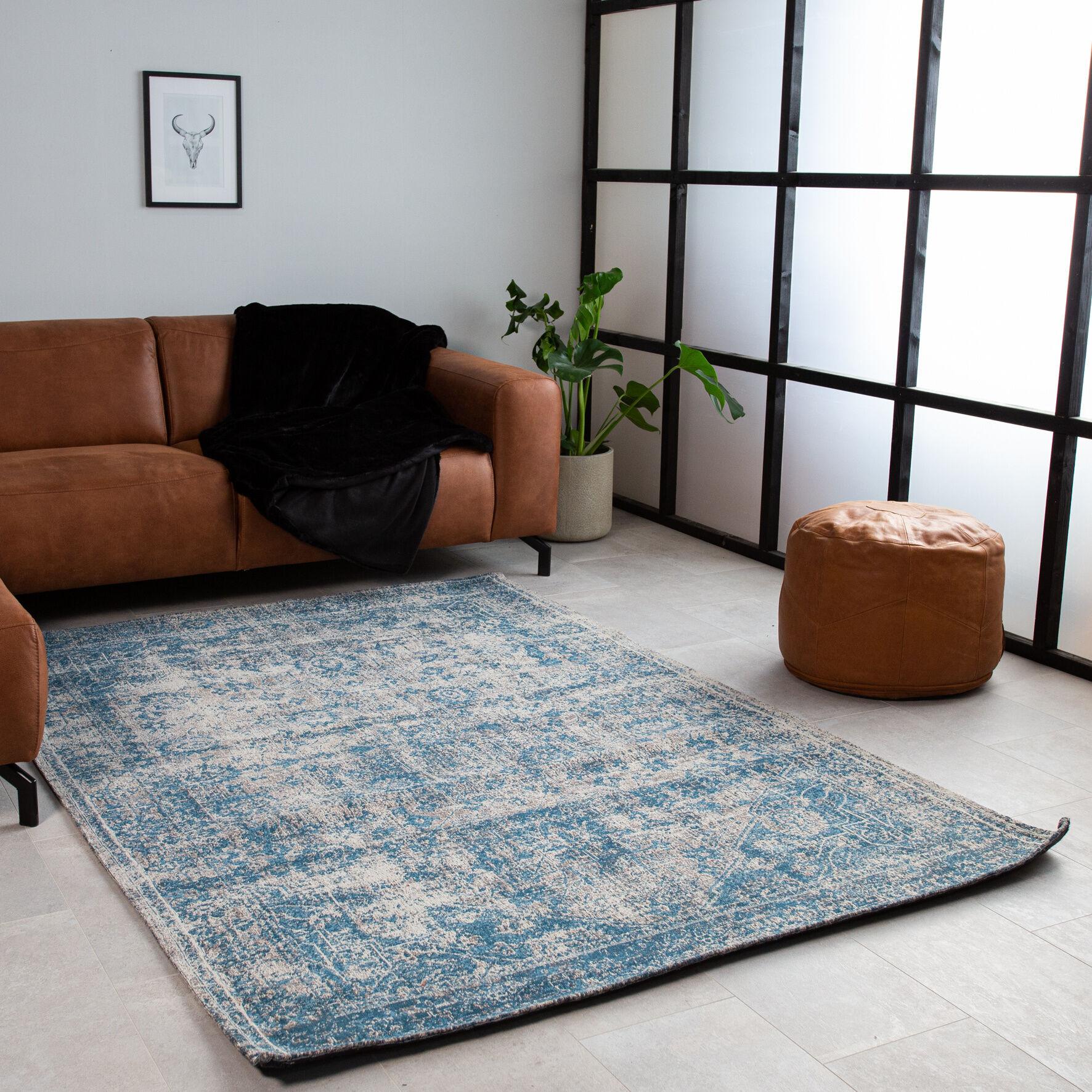 Dimehouse Juul Tapis Bleu Gris 160X230cm