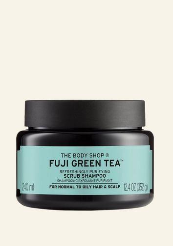 The Body Shop Gommage Cheveux Nettoyant Purifiant Fuji Green Tea™ 240 ML